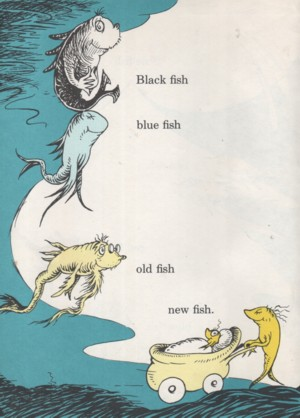Kathleenw deady children 39 s author golden books for One fish two fish red fish blue fish coloring pages