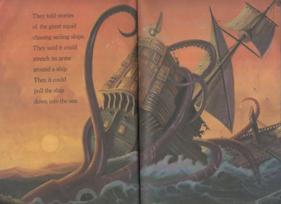 easy reader2003tenacles tales of the giant squid