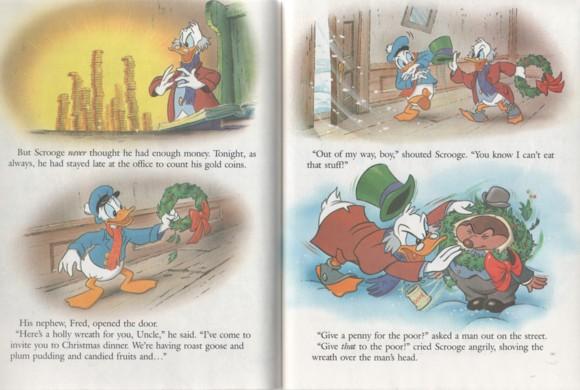 Mickeys Christmas Carol Book.Kathleenw Deady Children S Author Golden Books