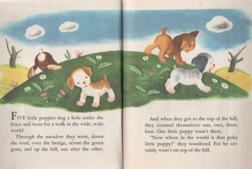 The Poky Little Puppy Golden Sturdy Counting Book 1980