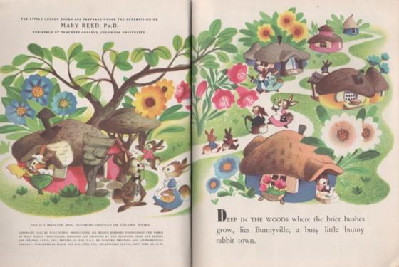 Children's Little Golden Book ~ OLD MOTHER HUBBARD #300-52 Aurelius Battaglia