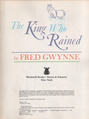 1970s books the king who rained fandeluxe Image collections